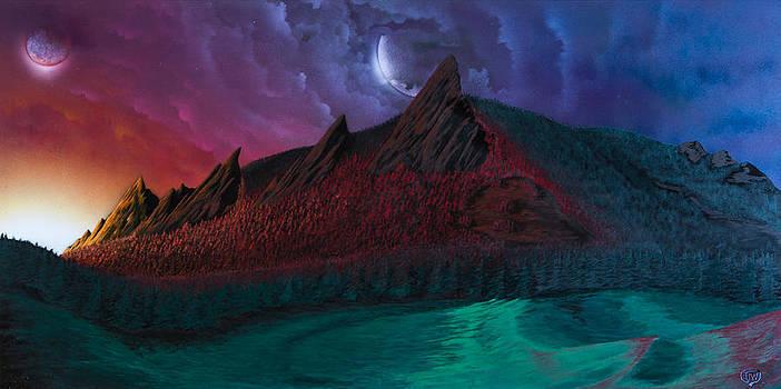 Fantasy Flatirons by Tyrone Webb