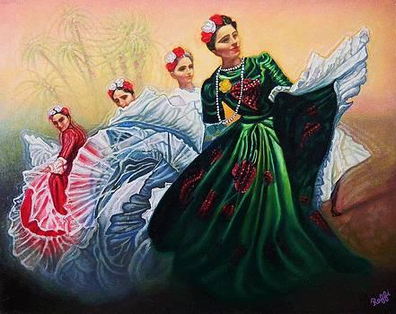 Festival Dancers by Raffi Jacobian