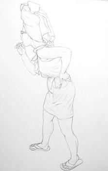 Figure Study by Jennifer Soriano