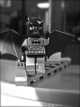 Sandy Tolman - Figures at Work - Batman 3252 - BW