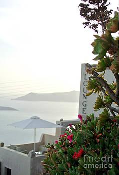 Fira Santorini  by Sarah Christian