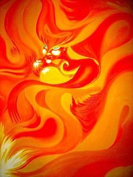 Fire Of Passion by Tatyana Shvartsakh