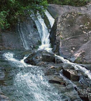 Fires Creek Waterfall by Annette Allman
