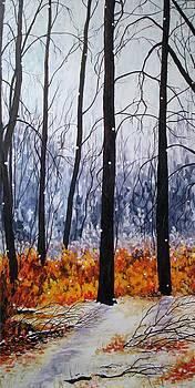First Snow by Elaine Booth-Kallweit