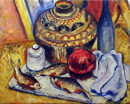 Fish and pomegranate by Vladimir Kezerashvili