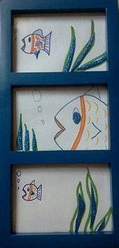 Fishies in the Sea II by Karen Jensen
