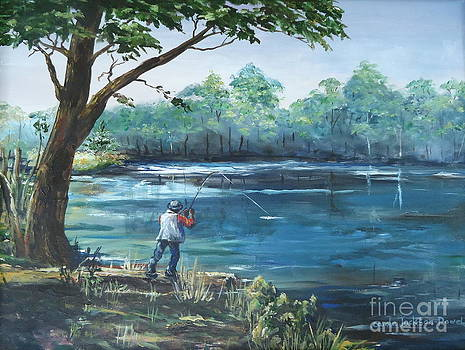 Fishin' by Carole Powell