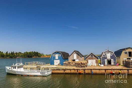 Elena Elisseeva - Fishing dock in Prince Edward Island