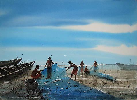 Fishing by Jiaur Rahman