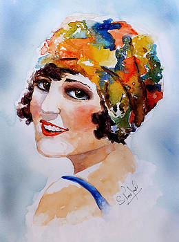 Flappers girl by Steven Ponsford