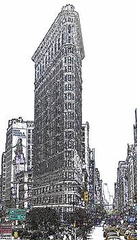 Flat Iron Building by Frank Garciarubio