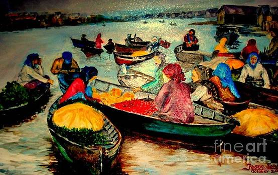 Floating Market by Jason Sentuf