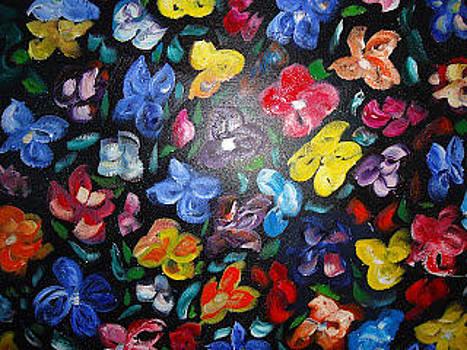 Florecillas by Cristina Chavez