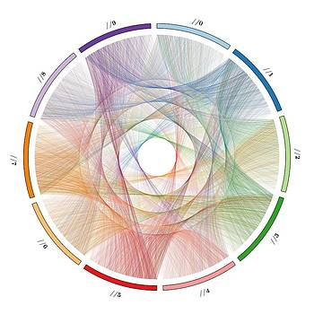 Flow of life flow of pi by Cristian Vasile