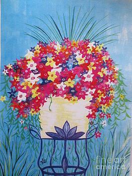 Flower Pot by Sandra Spincola