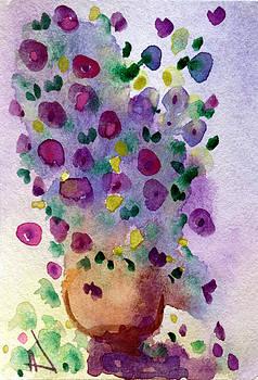 Patricia Lazaro - Purple Flowerpot