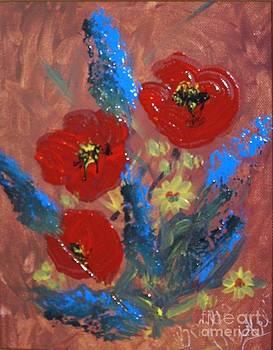 Flowers by Bozena Chmielewska