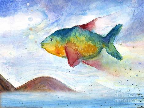 Flying Fish by Stella Levi