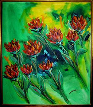Thomas Lupari - Flying Flowers