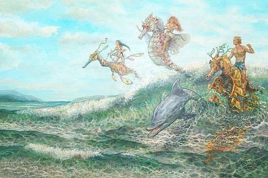 Flying Seahorses by Sheila Tibbs