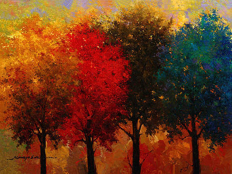 Four Seasons by Kanayo Ede