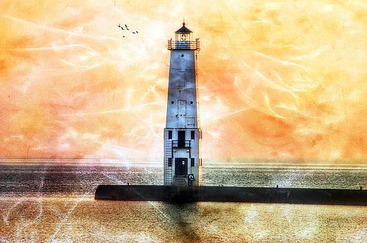 Frankfort Lighthouse by Joan Bertucci