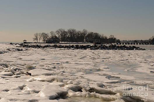 Frozen Ocean by Kate Stoupas