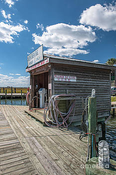 Dale Powell - Fuel Dock on Shem Creek