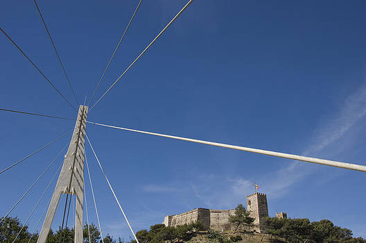 Fuengirola Castle From The Armada Bridge by Austin Brown