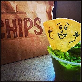 Fun With Chips And Gauc  #chipotle by Amanda Max