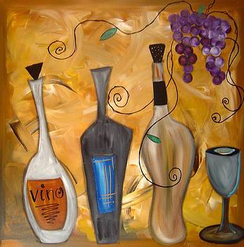 Funky Wine 12 by Gino Savarino