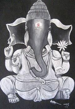 Ganesha by Usha Rai