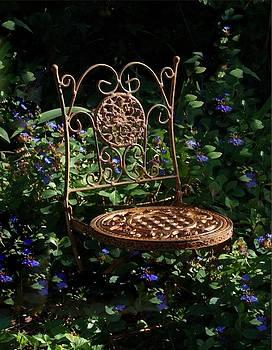 Garden Chair by Jim  Darnall