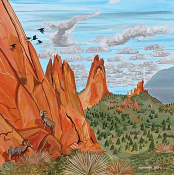 Garden of the Gods by Mike Nahorniak