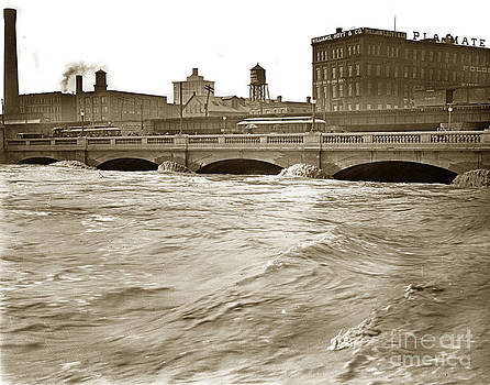 California Views Mr Pat Hathaway Archives - Genesee River Rochester New York State  At Flood Stage Circa 1904