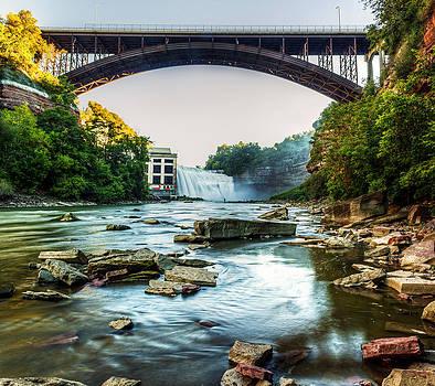 Genesee River by Tim Buisman