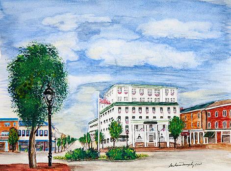 Gettysburg Hotel by Barbara Murphy