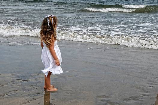 Girl by the Sea Two by Tazz Anderson