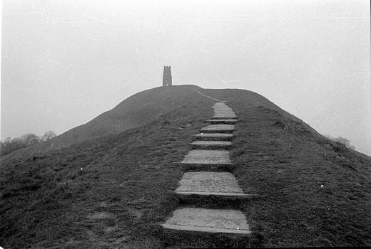 Alasdair Shaw - Glastonbury Tor Steps