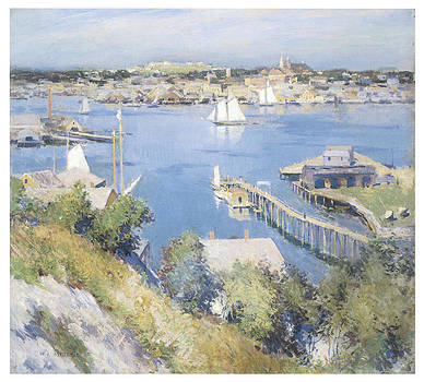 Willard Leroy Metcalf - Gloucester Harbor