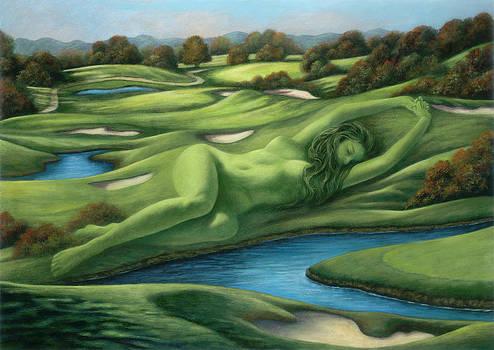 Goddess of the Greens by Glenda Stevens