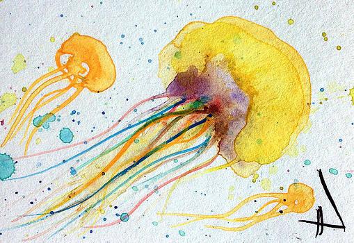 Patricia Lazaro - Gold Jellyfish