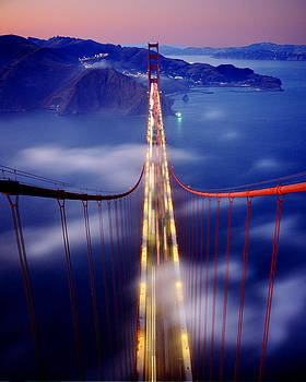 Golden Gate Bridge by Michael Fahey
