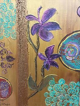 Golden Turquoise by Noor Moghrabi