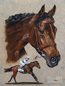 Goldikova by Pat DeLong