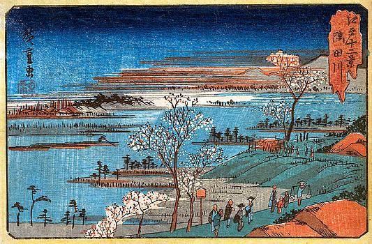 Goten Yama No Hana by Hiroshige Utagawa