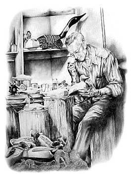 Grandpas Hands by Jonni Hill