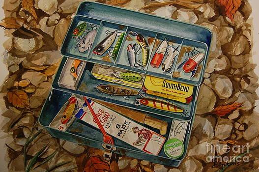 Grandpa's Tackle Box by Bill Dinkins