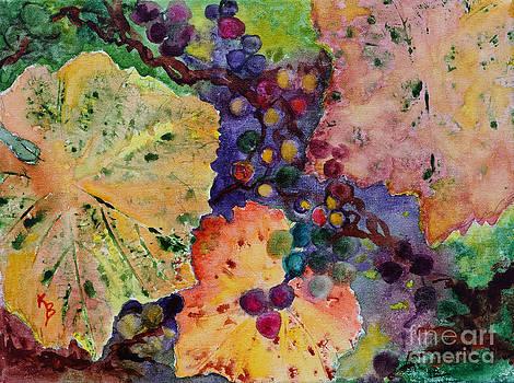 Grapes and Leaves by Karen Fleschler