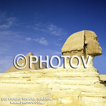 Great Pyramid of Giza and The Sphinx - Egypt by Hisham Ibrahim